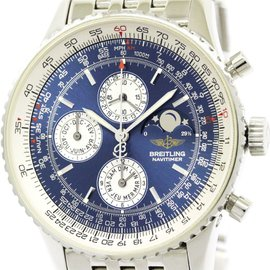 Breitling Navitimer A19340 Stainless Steel Automatic 43mm Mens Watch