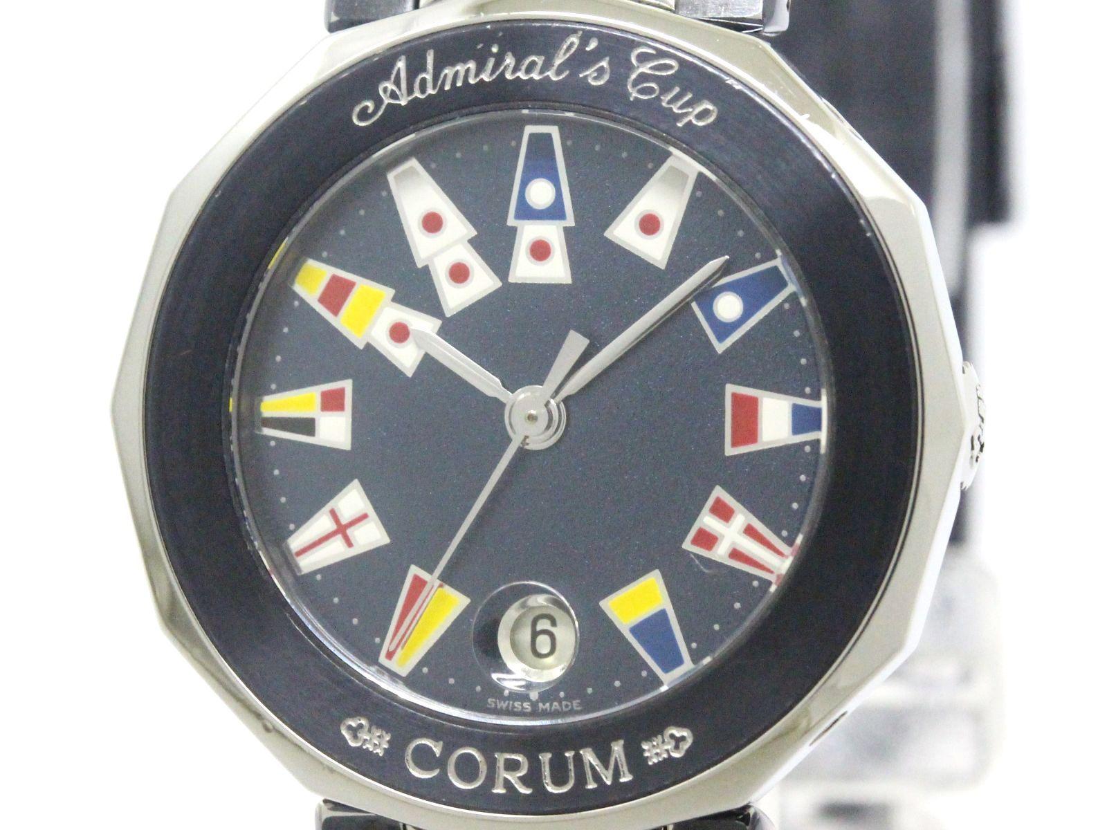 """""""""""Corum Admirals Cup 39.610.30 Stainless Steel Quartz 27mm Womens Watch"""""""""""" 1956580"""