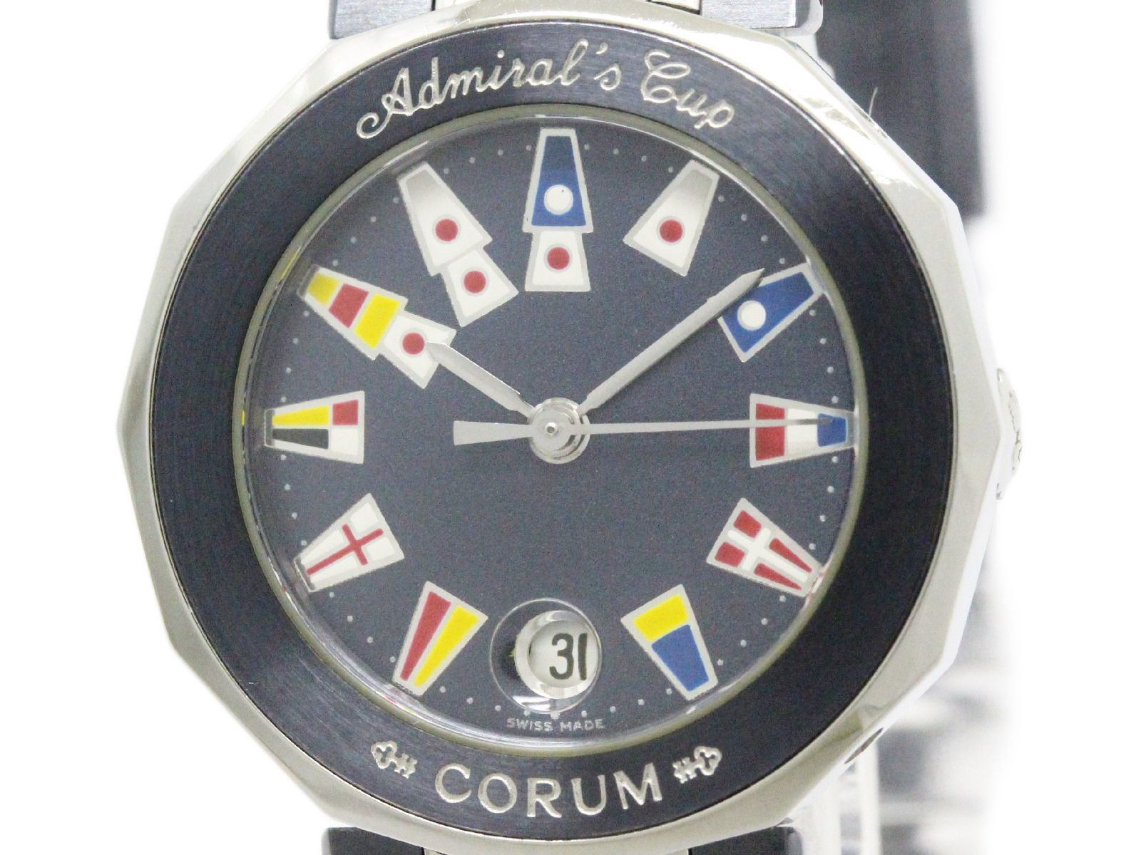 """Image of """"Corum Admirals Cup 39.610.30 Stainless Steel Blue Dial Quartz 27mm"""""""