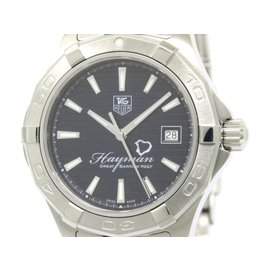 Tag Heuer Aquaracer WAP201Y Stainless Steel Automatic 41mm Mens Watch