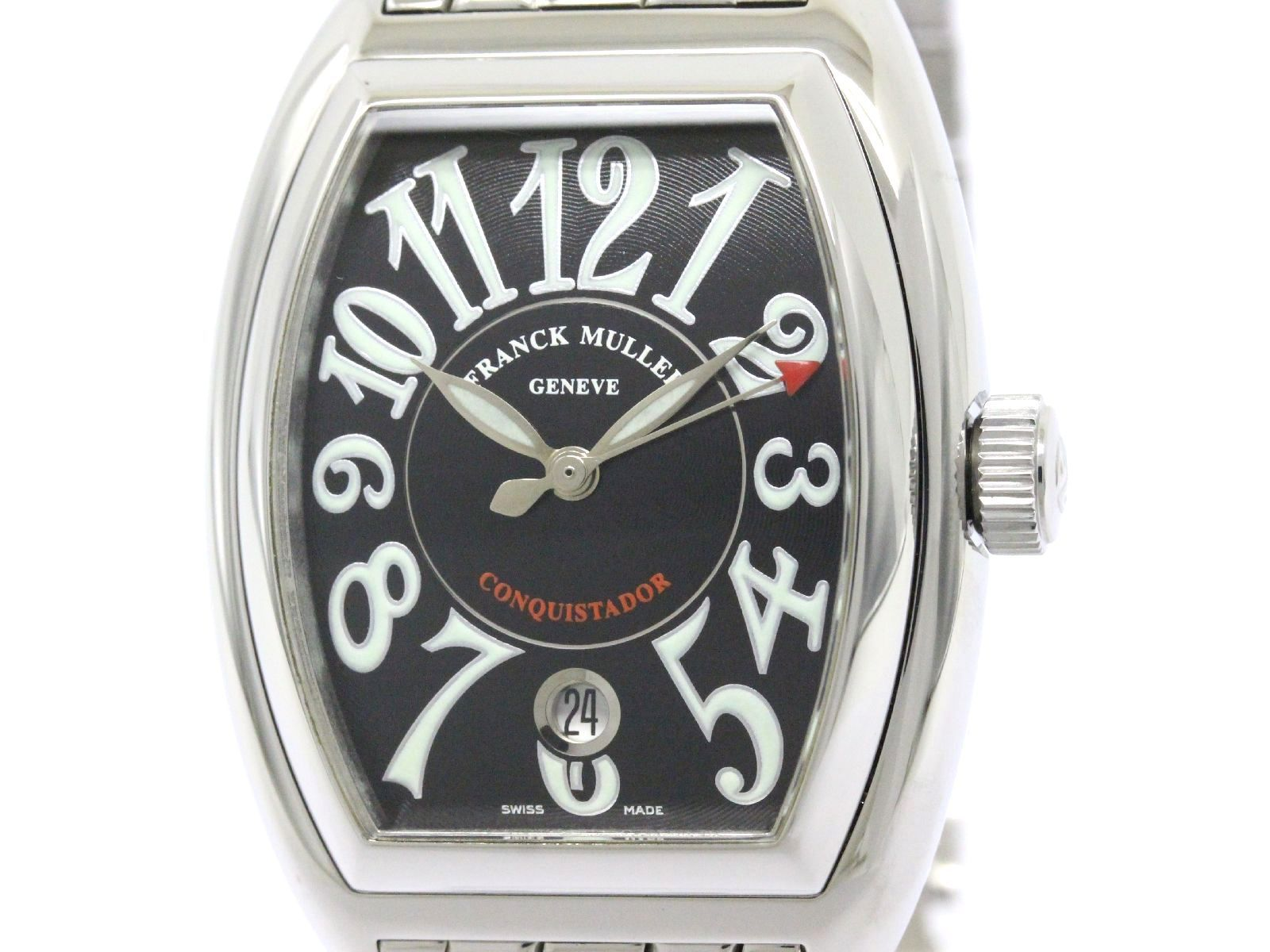"Image of ""Franck Muller Conquistador 8001Sc Stainless Steel Automatic 35mm Mens"""