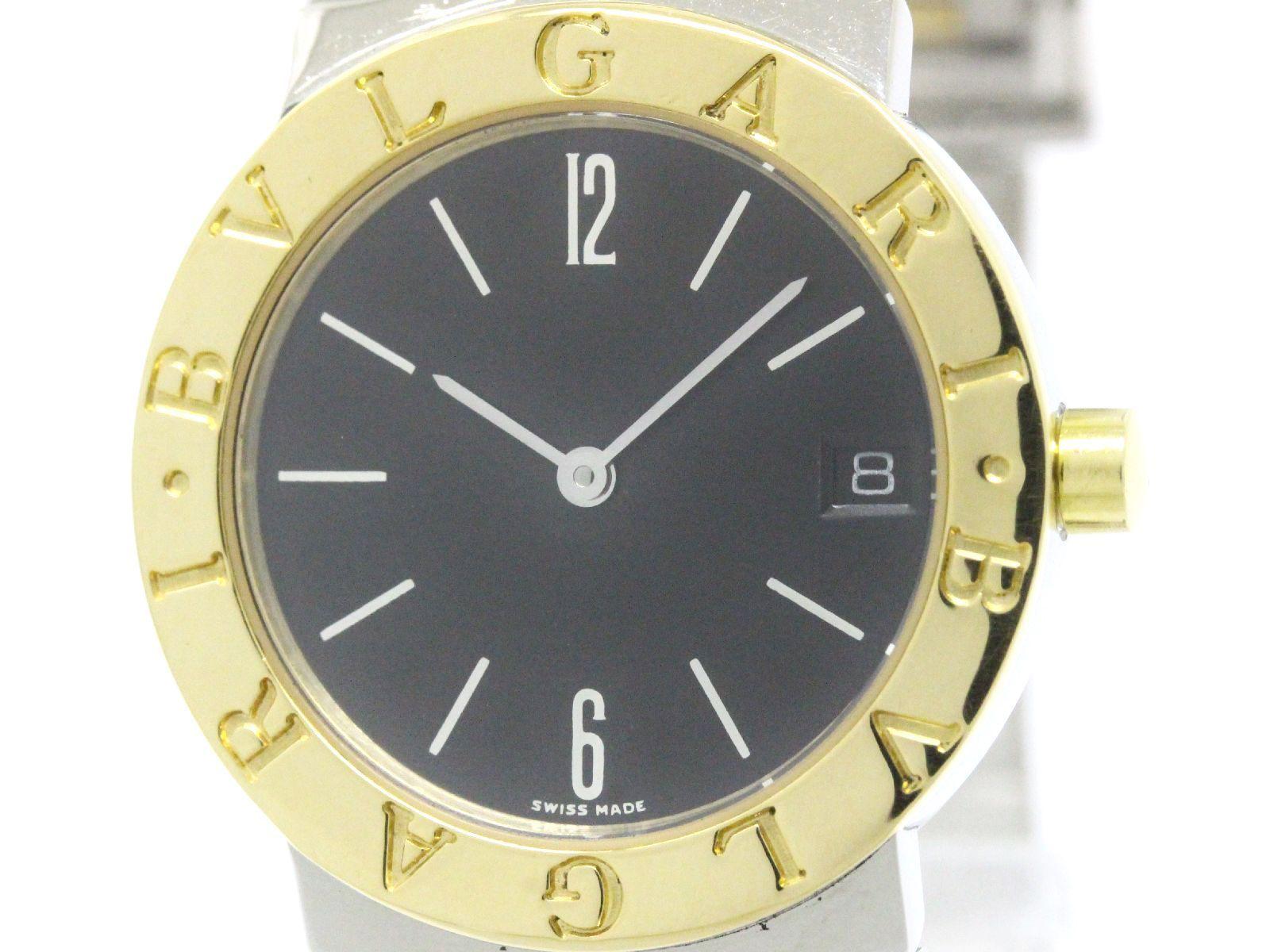 "Image of ""Bulgari Bb30Sgd 18K Yellow Gold / Stainless Steel Quartz 30mm Womens"""