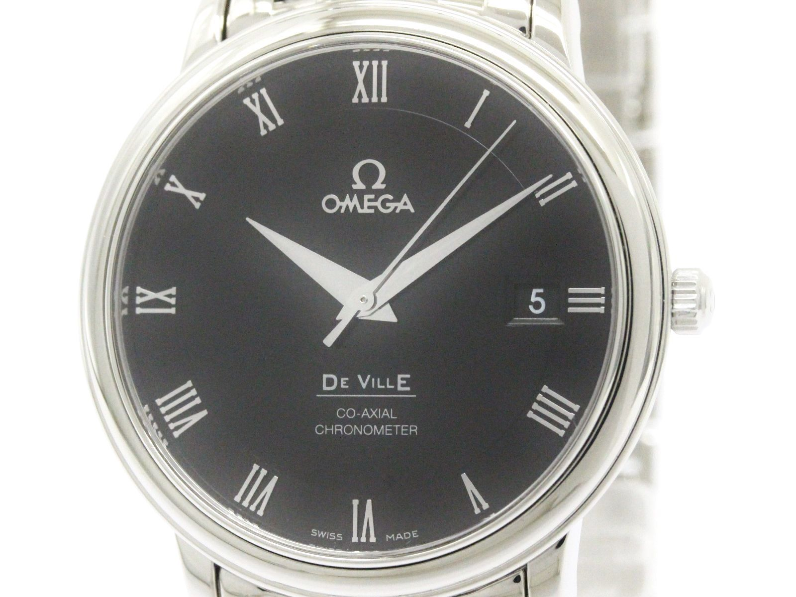 "Image of ""Omega De Ville Prestige 4574.50 Stainless Steel Automatic 36mm Mens"""