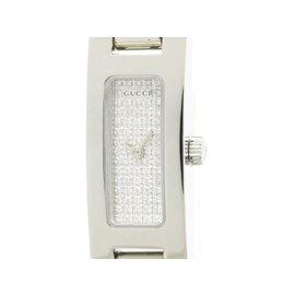 gucci 3900l. gucci 3900l stainless steel \u0026 diamond dial quartz 12mm womens watch 3900l