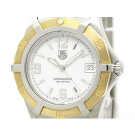 Tag Heuer 2000 Exclusive WN1150 18K Pink Gold & Stainless Steel 37mm Mens Watch