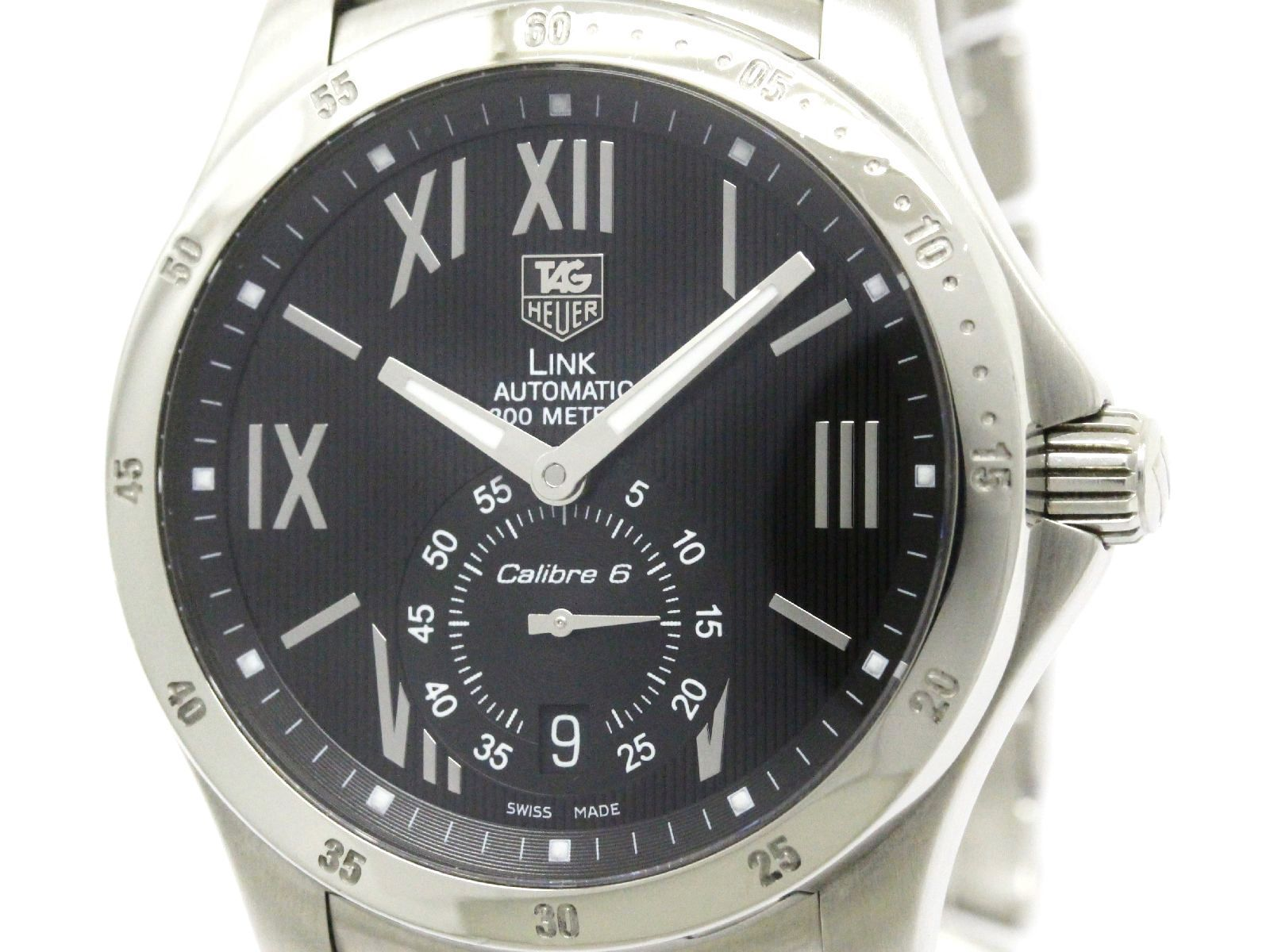 """Image of """"Tag Heuer Link Wjf211N Stainless Steel Automatic 39mm Mens Watch"""""""