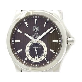 Tag Heuer Link WJF211C Stainless Steel Automatic 39mm Mens Watch