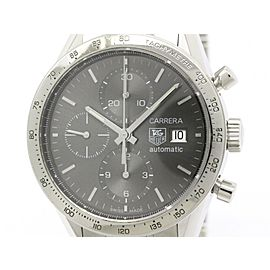 Tag Heuer Carrara CV201AA Stainless Steel Automatic 41mm Mens Watch