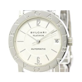 Bulgari BB33PL 950 Platinum Automatic 33mm Mens Watch