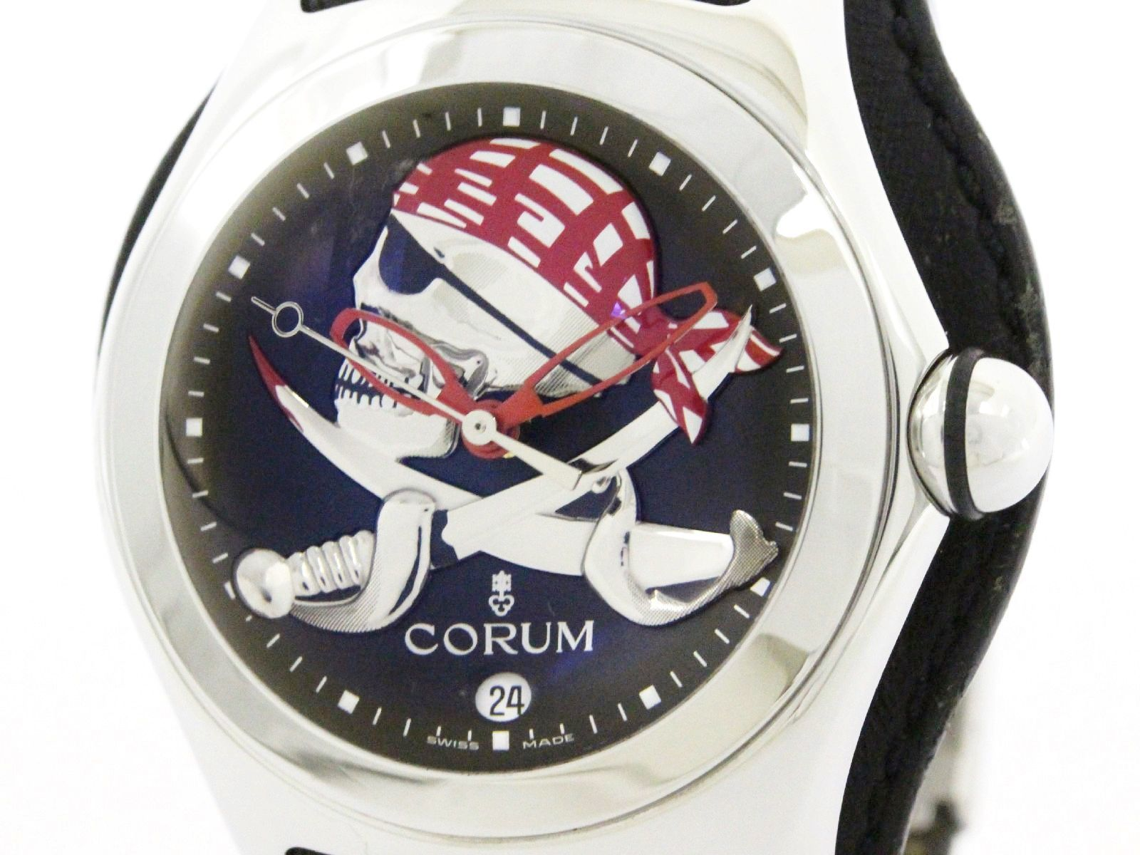 "Image of ""Corum Bubble 082.150.20 Stainless Steel Automatic 45mm Mens Watch"""