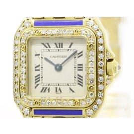 Cartier Panthere 18K Yellow Gold Quartz 24mm Womens Watch