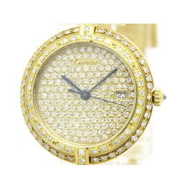 Cartier Panthere 18K Yellow Gold Quartz 30mm Womens Watch