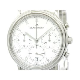 Blancpain Villeret Stainless Steel Automatic 34mm Mens Watch