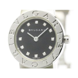 Bulgari BB23SS Stainless Steel Quartz 23mm Womens Watch