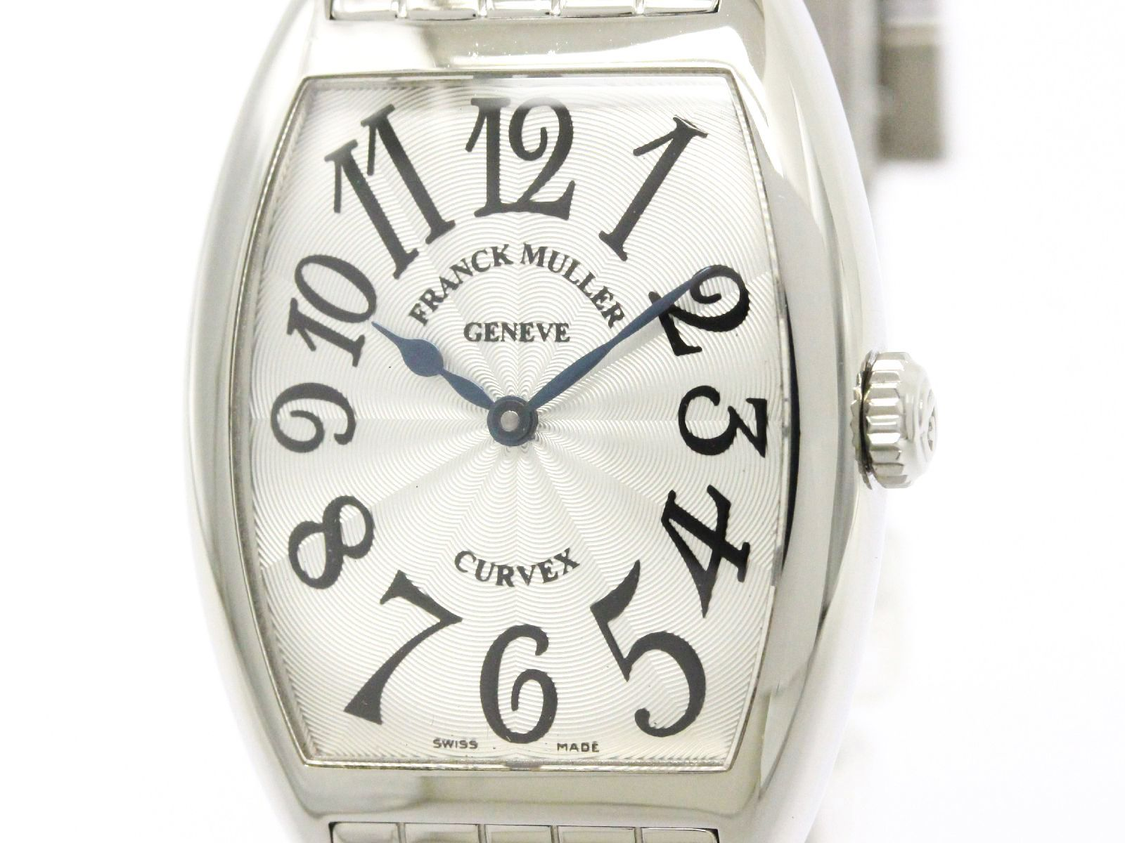"""Image of """"Franck Muller Trinocerbex 7502qz Stainless Steel & Leather Automatic"""""""