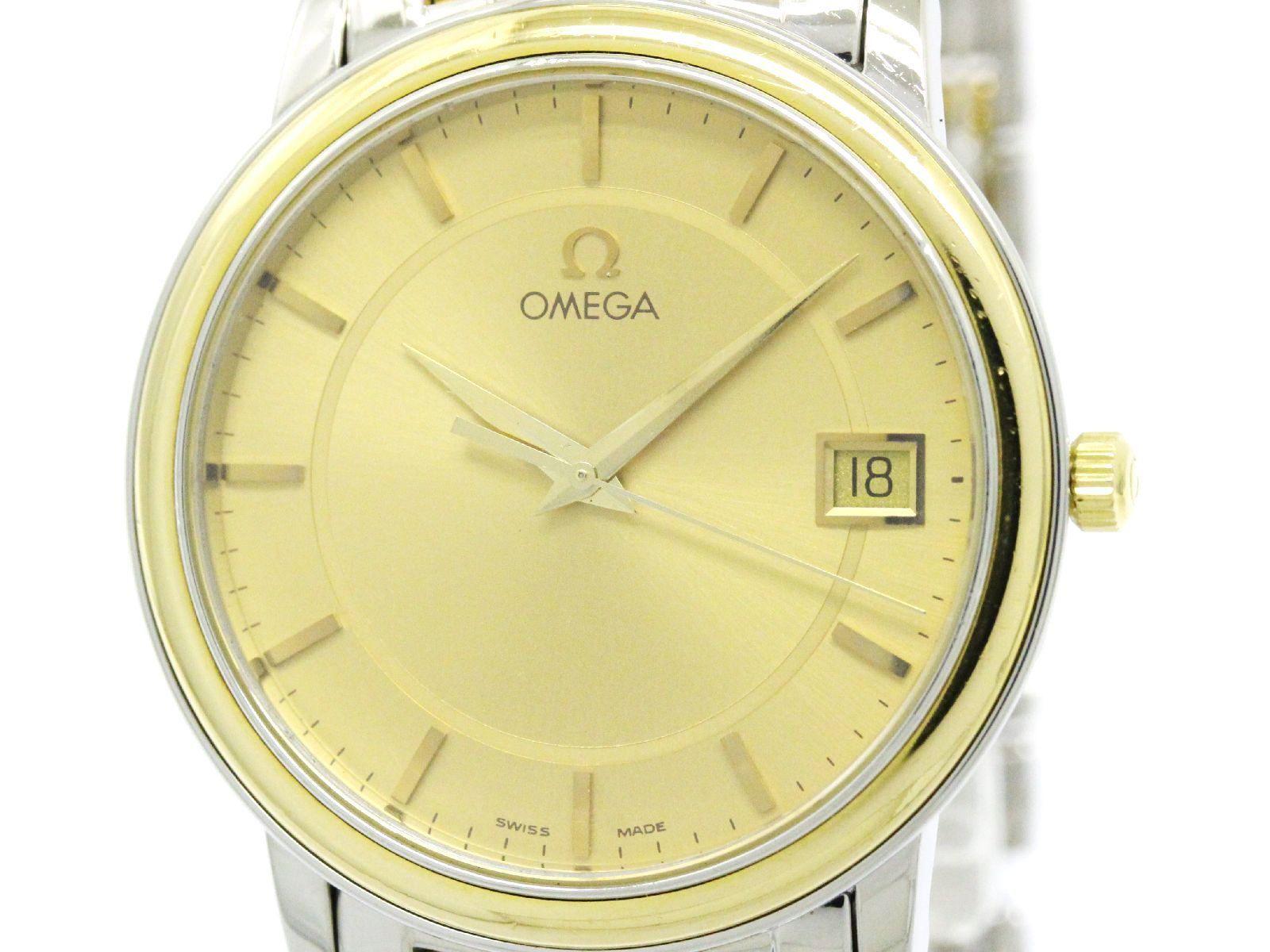 "Image of ""Omega De Ville Prestige 4310.11 Stainless Steel / 18K Yellow Gold"""