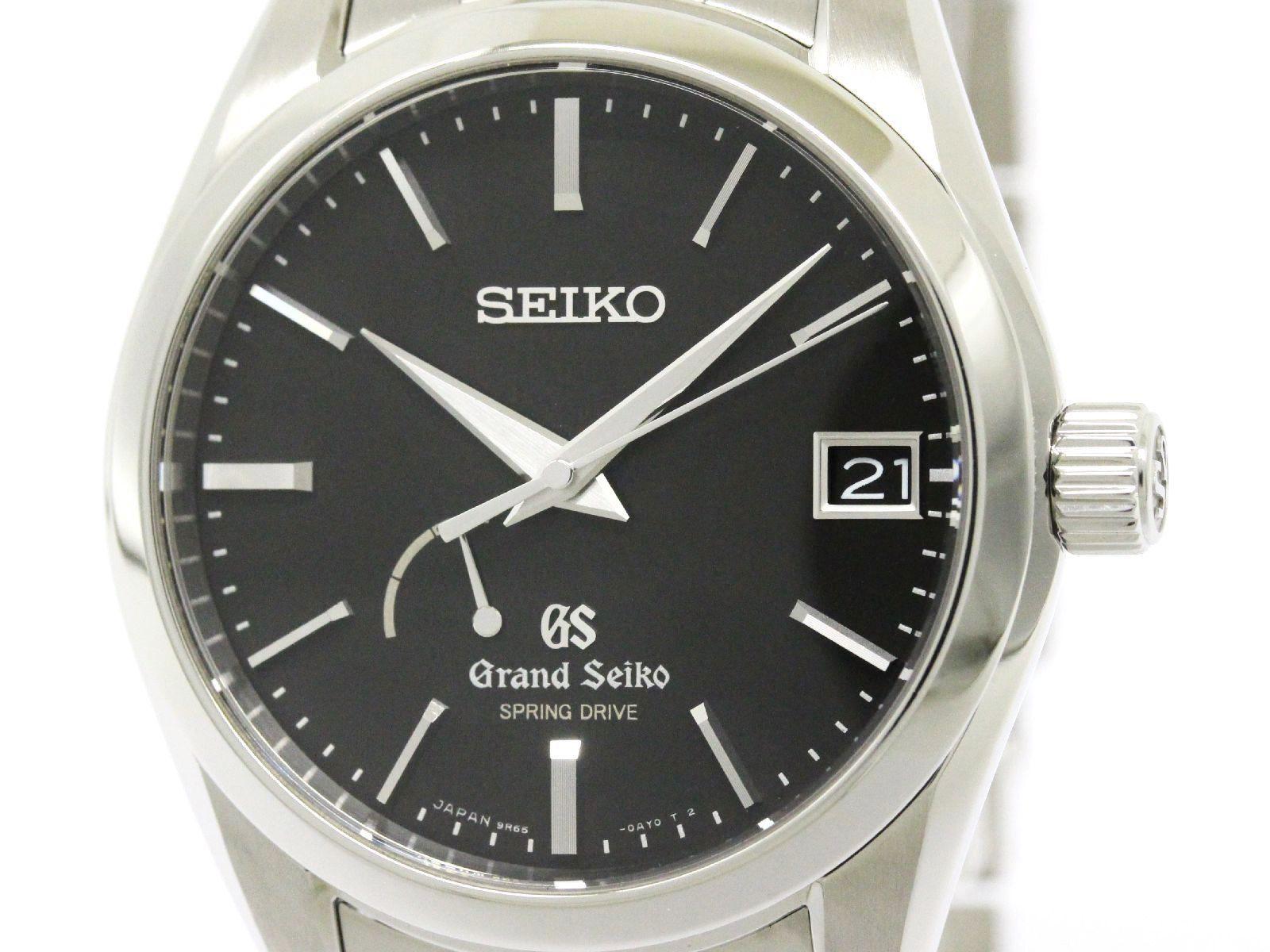 "Image of ""Seiko Grand Seiko Sbga083 Stainless Steel Spring Drive 38mm Mens Watch"""