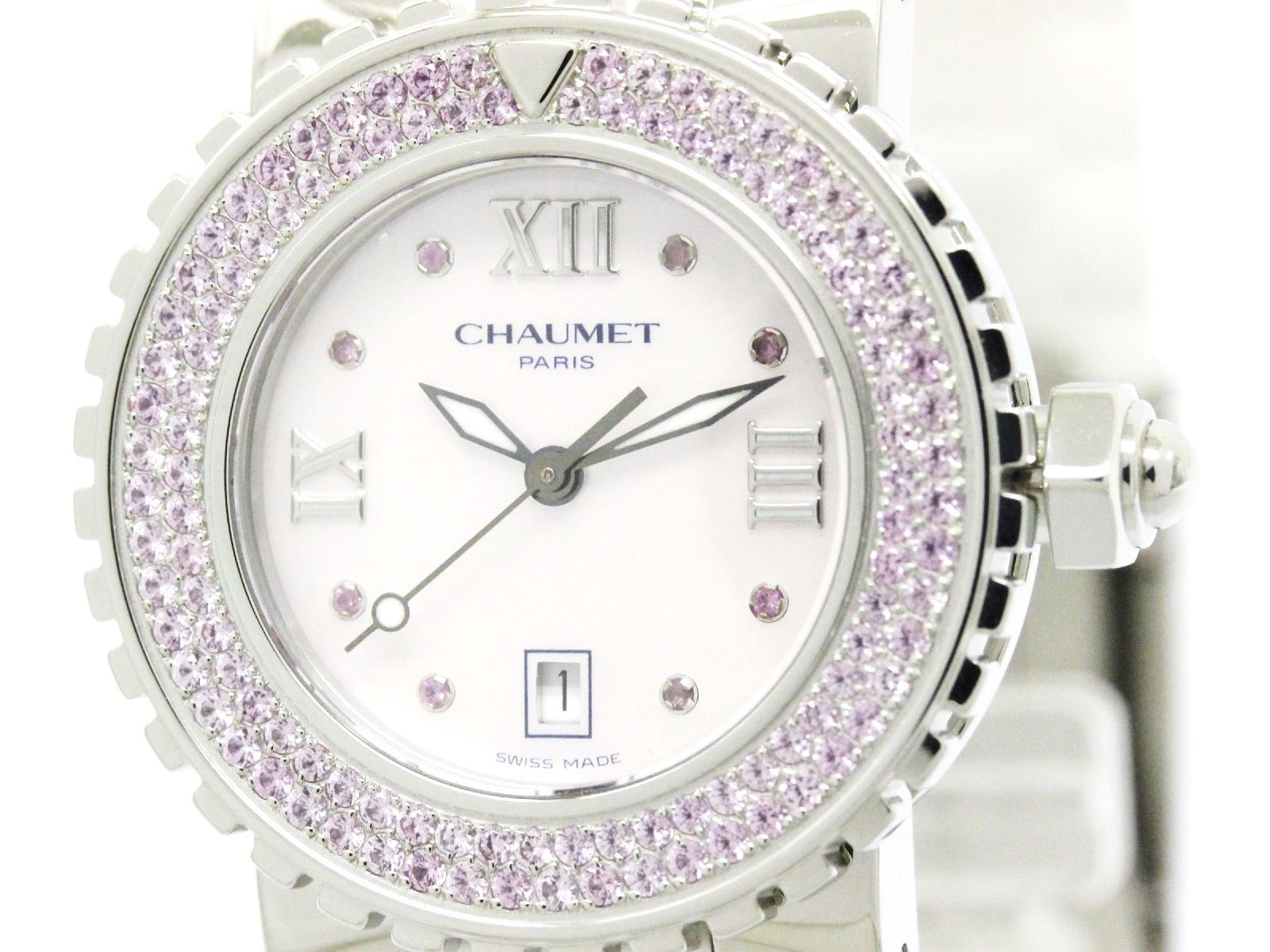 """Image of """"Chaumet Class One Stainless Steel Quartz 33mm Womens Watch"""""""