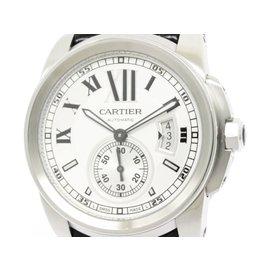 Cartier Calibre de Cartier W7100037 Stainless Steel Automatic 42mm Mens Watch