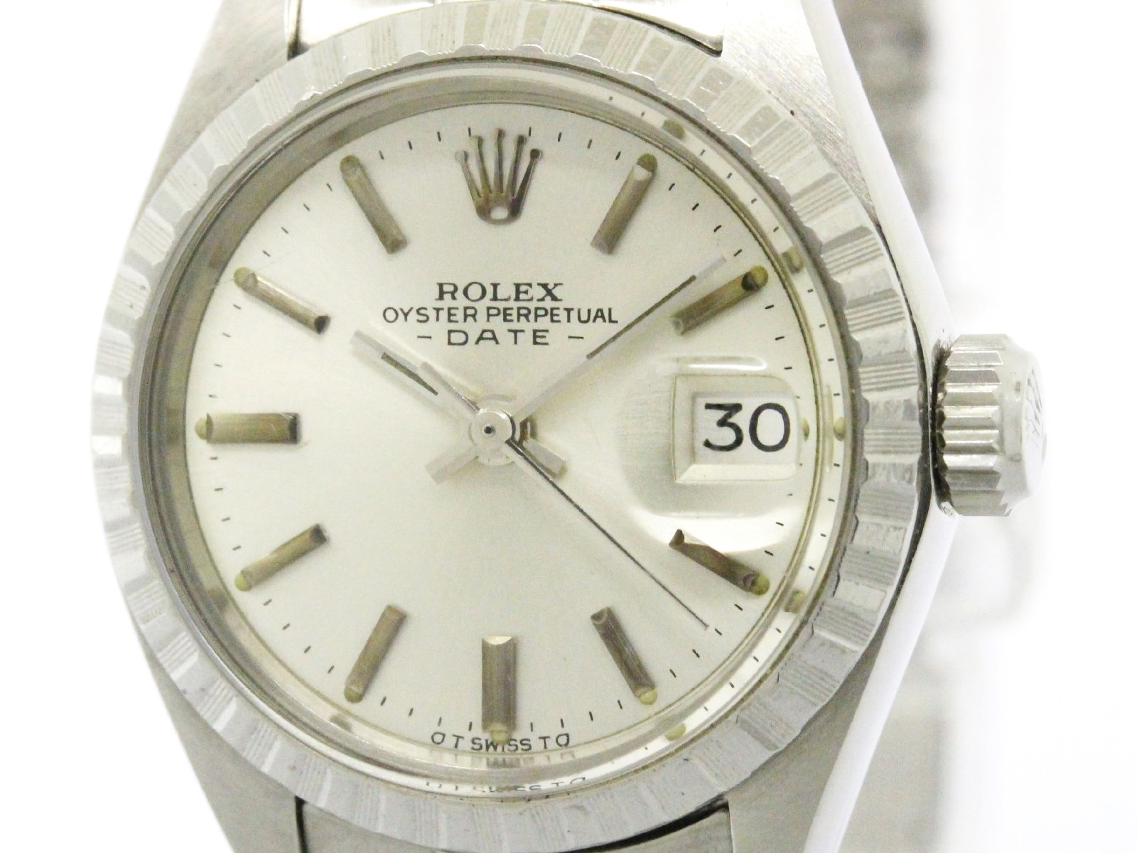 "Image of ""Rolex Date 6924 Stainless Steel Automatic 26mm Womens Watch"""
