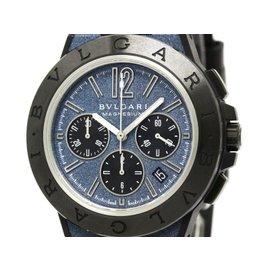 Bulgari Diagono ADG42SMCCH Ceramic / Magnesium / Rubber Automatic 42mm Mens Watch