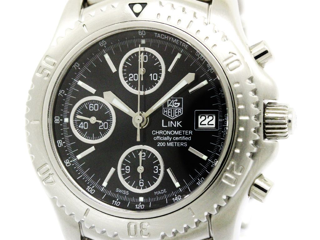 """Image of """"Tag Heuer Link Ct5111 Automatic Stainless Steel 42mm Mens Watch"""""""