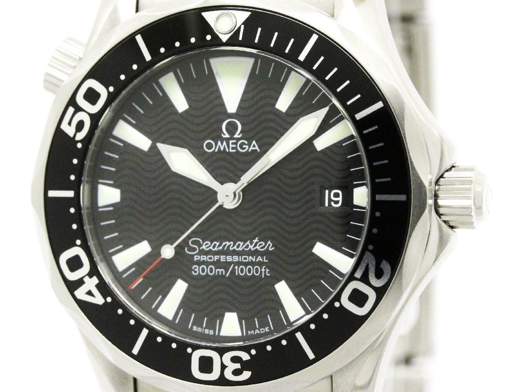 "Image of ""Omega Seamaster 2262.50 Quartz Stainless Steel 36mm Mens Sports Watch"""