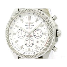 Breitling Bentley A25368 Stainless Steel Automatic 49mm Mens Watch