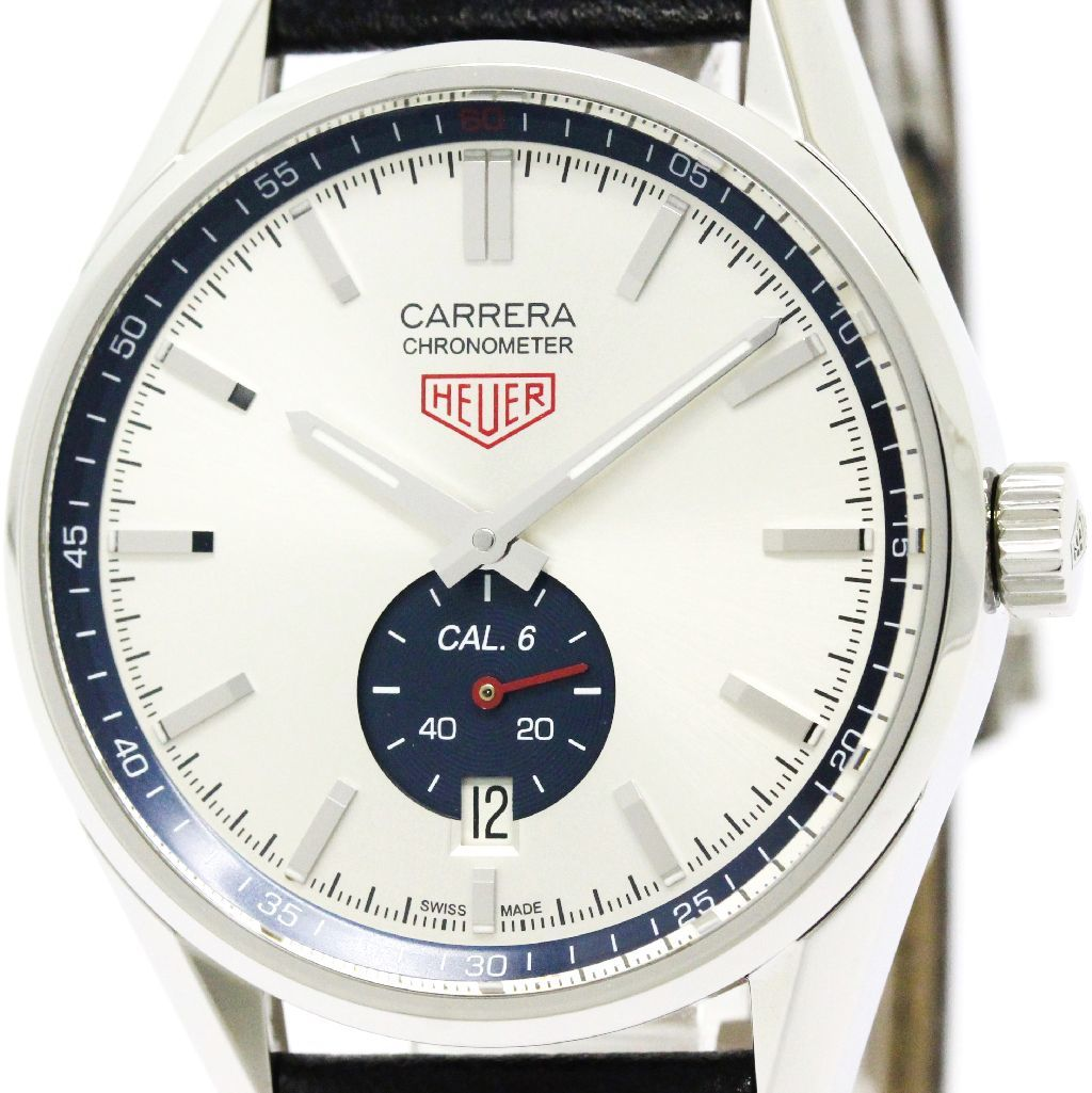 """Image of """"Tag Heuer Carrera Wv5111 Automatic Stainless Steel 39mm Mens Watch"""""""