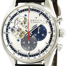 Zenith Chronomaster 03.2040.4061 Stainless Steel Automatic 42mm Mens Watch