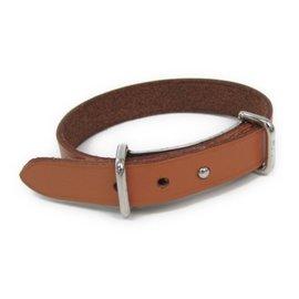 Hermes Hapi Silver Tone Hardware Barenia Leather Bracelet
