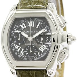 Cartier Roadster W62007X6 Stainless Steel Automatic 42mm Mens Watch