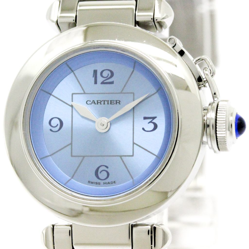 "Image of ""Cartier Miss Pasha W3140024 Stainless Steel Quartz 27mm Womens Watch"""