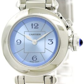 Cartier Miss Pasha W3140024 Stainless Steel Quartz 27mm Womens Watch