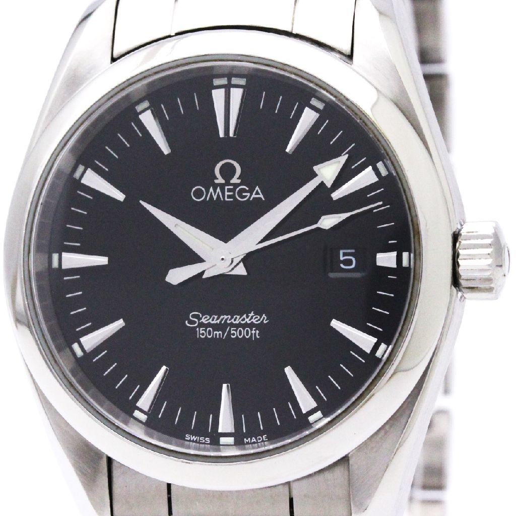 "Image of ""Omega Seamaster 2518.50 Quartz Stainless Steel 36mm Mens Sports Watch"""