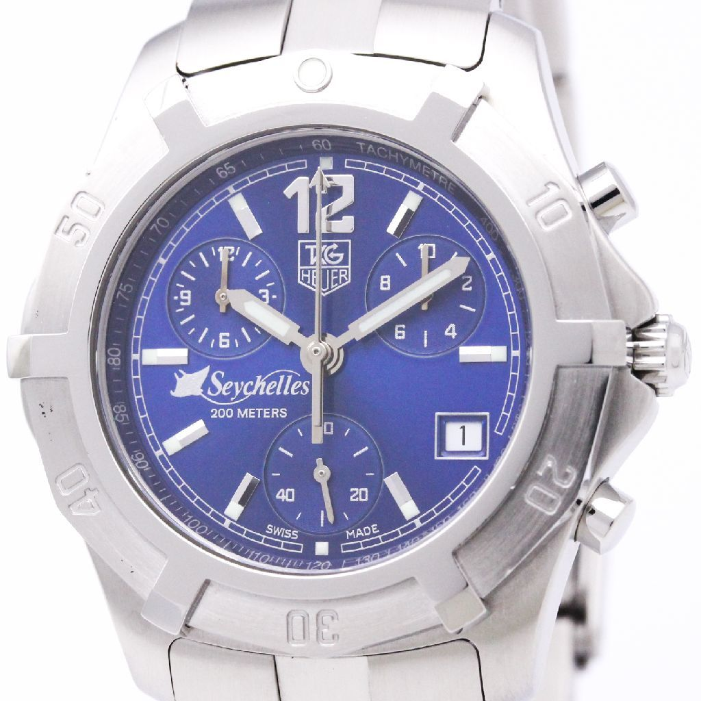 """Image of """"Tag Heuer 2000 Cn111D Quartz Stainless Steel 38mm Mens Watch"""""""
