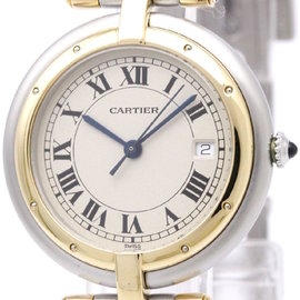Cartier Panthere De Cartier 183964 Stainless Steel and 18K Yellow Gold 30mm Womens Watch