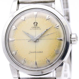 Omega Seamaster 2846 Automatic Stainless Steel 34mm Mens Dress Watch