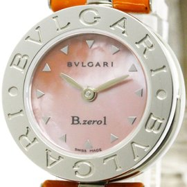 Bulgari B.zero1 BZ22S Stainless Steel Quartz 22mm Womens Watch
