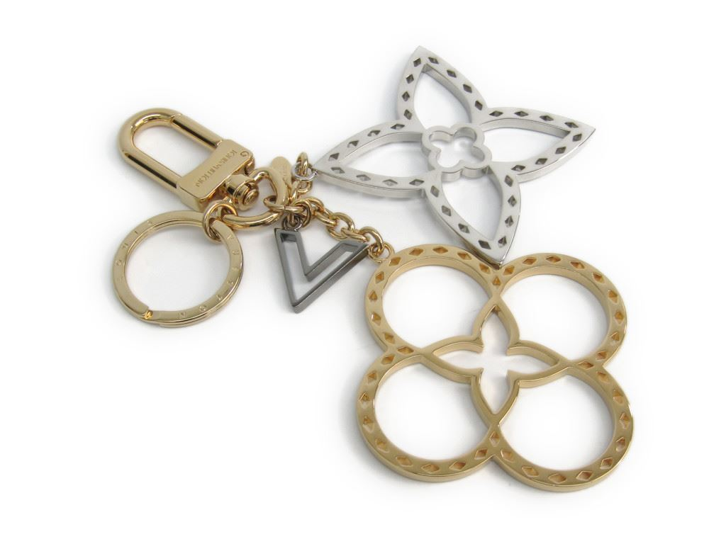 "Image of ""Louis Vuitton Silver & Gold Tone Hardware Handbag Charm"""