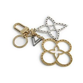 Louis Vuitton Silver & Gold Tone Hardware Handbag Charm