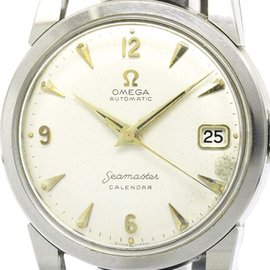Omega Seamaster 2849 Calendar Stainless Steel Automatic 34mm Vintage Mens Watch