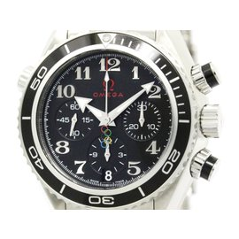 Omega Seamaster Planet Ocean 222.30.38.50.01.003 Stainless Steel Automatic 38mm Mens Watch