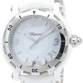 Chopard Happy Sport 8507 Quartz Ceramic 39mm Womens Dress Watch