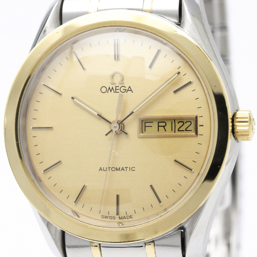 "Image of ""Omega Classic 166.0299 Automatic 18K Yellow Gold & Stainless Steel"""