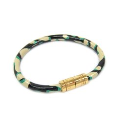 Louis Vuitton Blasure Vernis Leather Keep It Leopard Bracelet
