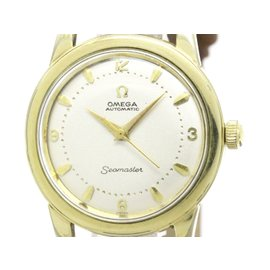 Omega Seamaster L900 Gold Plated Automatic 34mm Mens Watch