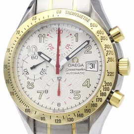 Omega Speedmaster 3313.33 Automatic 18K Yellow Gold & Stainless Steel 39mm Mens Sports Watch