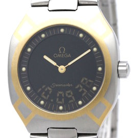 Omega Seamaster Yellow Gold / Stainless Steel 32mm Mens Watch