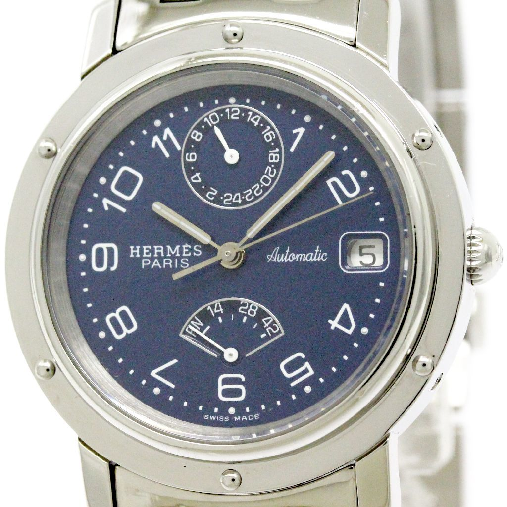 """Image of """"Hermes Clipper Cl5.710 Stainless Steel Automatic 36mm Mens Watch"""""""